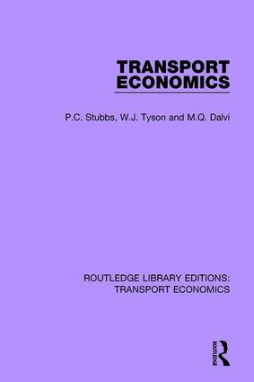 Transport Economics book cover