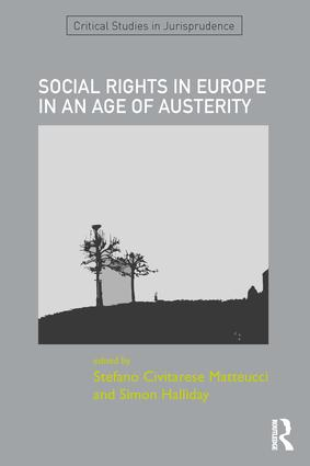 SOCIAL RIGHTS IN EUROPE IN AN AGE OF AUSTERITY: 1st Edition (Hardback) book cover