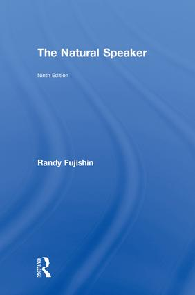 The Natural Speaker: 9th Edition (Hardback) book cover