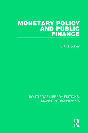 Monetary Policy and Public Finance book cover