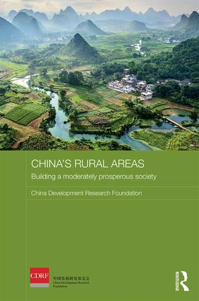 China's Rural Areas: Building a Moderately Prosperous Society, 1st Edition (Hardback) book cover