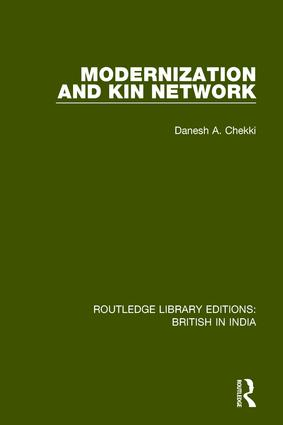 Modernization and Kin Network: 1st Edition (Paperback) book cover