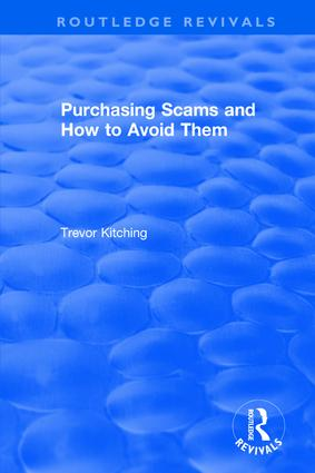 Purchasing Scams and How to Avoid Them (Hardback) book cover