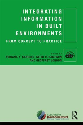 Integrating Information in Built Environments: 1st Edition (Hardback) book cover
