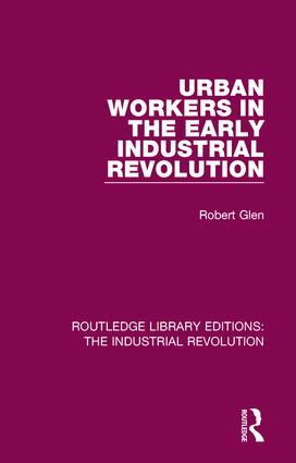 Urban Workers in the Early Industrial Revolution book cover