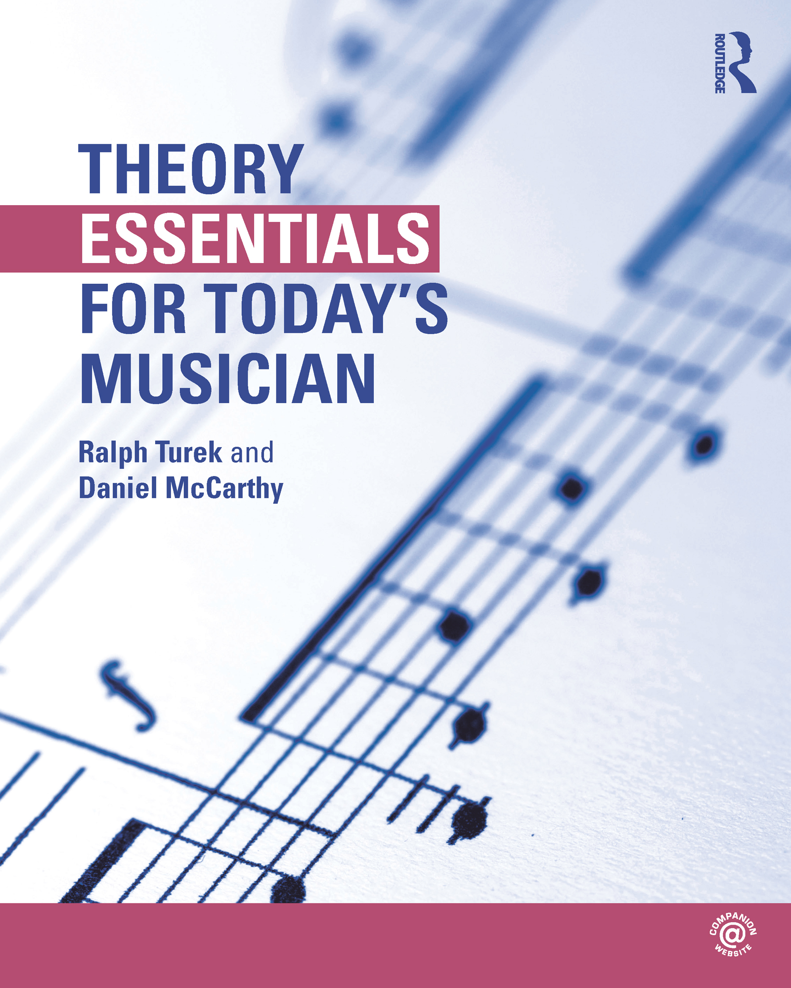 Theory Essentials for Today's Musician (Textbook): 1st Edition (Paperback) book cover