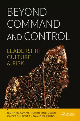 Beyond Command and Control: Leadership, Culture and Risk (Paperback) book cover