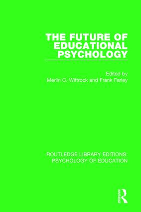 The Future of Educational Psychology book cover