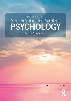 Research Methods and Statistics in Psychology: 7th Edition (Paperback) book cover