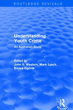 Revival: Understanding Youth Crime (2003): An Australian Study, 1st Edition (Paperback) book cover