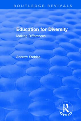 Education for Diversity: Making Differences: Making Differences, 1st Edition (Hardback) book cover