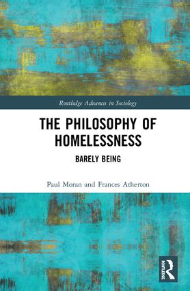 The Philosophy of Homelessness: Barely Being book cover