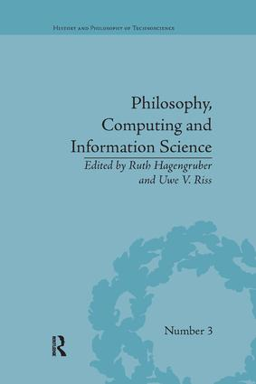 Philosophy, Computing and Information Science book cover