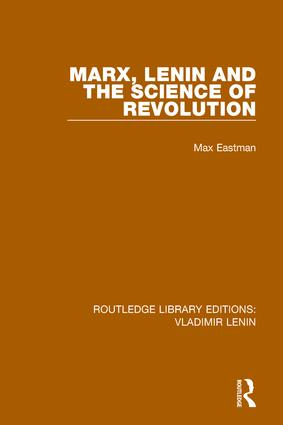 Marx, Lenin and the Science of Revolution: 1st Edition (Paperback) book cover
