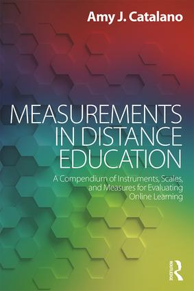 Measurements in Distance Education: A Compendium of Instruments, Scales, and Measures for Evaluating Online Learning (Paperback) book cover