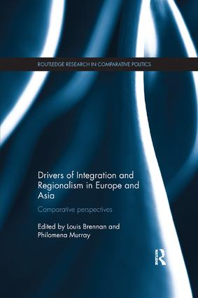 Drivers of Integration and Regionalism in Europe and Asia: Comparative perspectives book cover