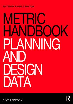Metric Handbook: Planning and Design Data book cover