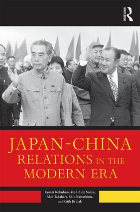 Japan–China Relations in the Modern Era book cover