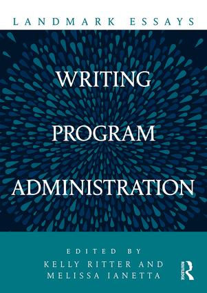 Landmark Essays on Writing Program Administration book cover
