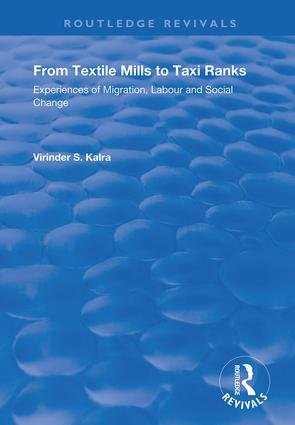 From Textile Mills to Taxi Ranks: Experiences of Migration, Labour and Social Change, 1st Edition (Hardback) book cover