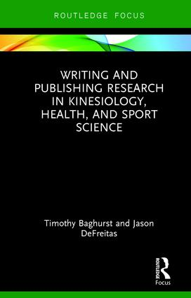 Writing and Publishing Research in Kinesiology, Health, and Sport Science book cover