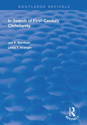 In Search of First-Century Christianity: 1st Edition (Hardback) book cover