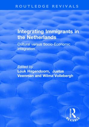 The Cultural Integration of Immigrants in the Netherlands: A Description and Explanation of Modern Attitudes of Turks, Moroccans, Surinamese, Antilleans and the Indigenous Population