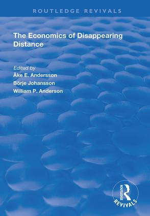 The Economics of Disappearing Distance book cover