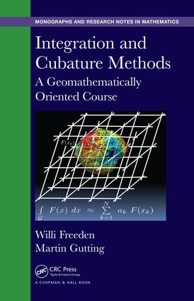 Integration and Cubature Methods: A Geomathematically Oriented Course book cover