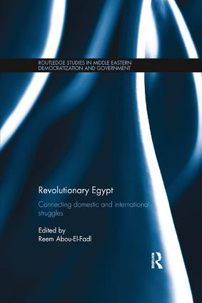 Revolutionary Egypt: Connecting Domestic and International Struggles book cover