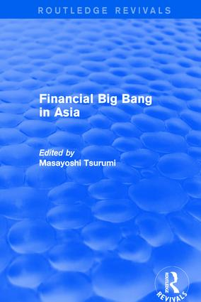 Financial Big Bang in Asia book cover