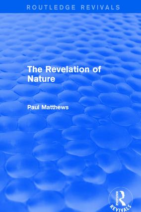 The Revelation of Nature