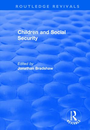 Children and Social Security: 1st Edition (Hardback) book cover