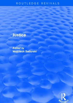Justice: 1st Edition (Hardback) book cover