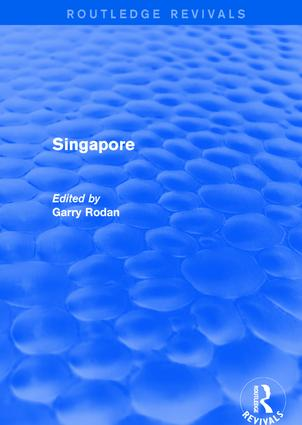 Singapore: 1st Edition (Hardback) book cover