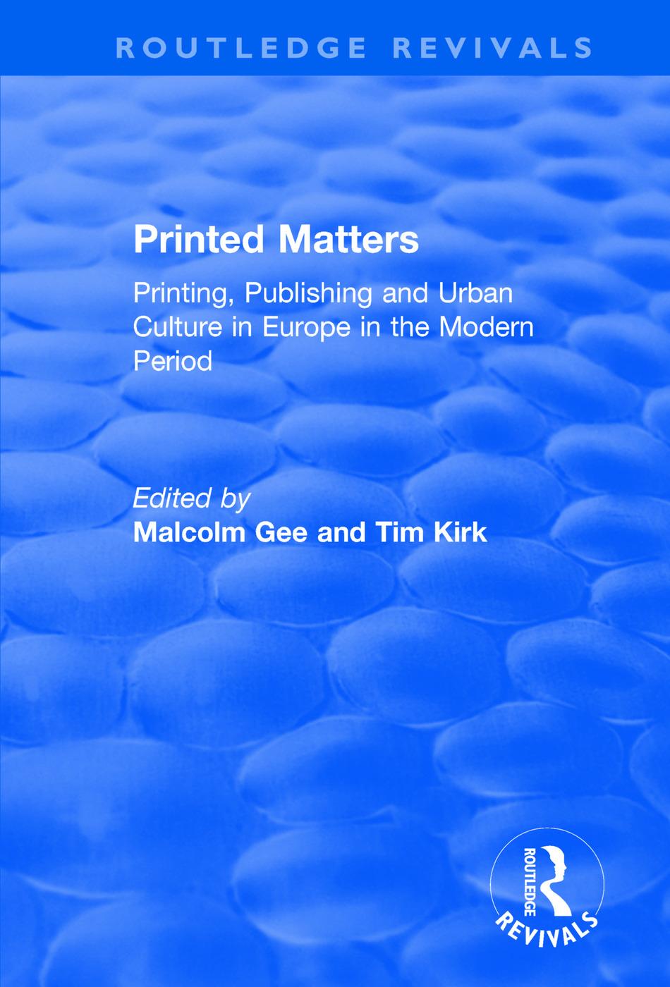 Printed Matters