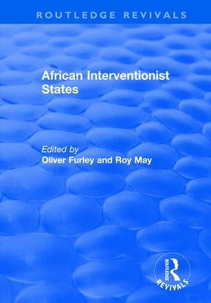 African Interventionist States: 1st Edition (Paperback) book cover