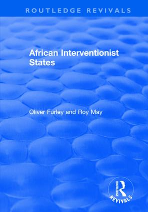 African Interventionist States: 1st Edition (Hardback) book cover