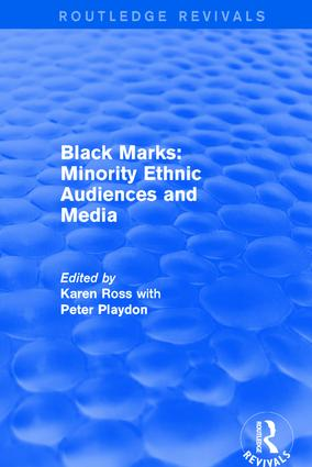 Black Marks: Minority Ethnic Audiences and Media book cover