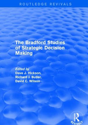 The Bradford Studies of Strategic Decision Making