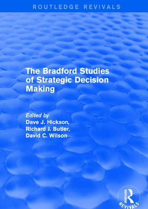 The Bradford Studies of Strategic Decision Making book cover