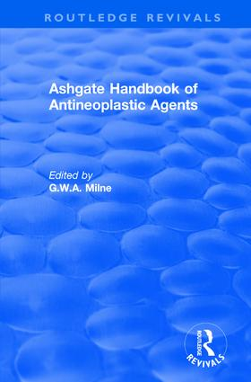 Ashgate Handbook of Antineoplastic Agents: 1st Edition (Paperback) book cover