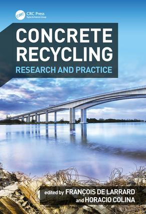 Concrete Recycling: Research and Practice, 1st Edition (Hardback) book cover