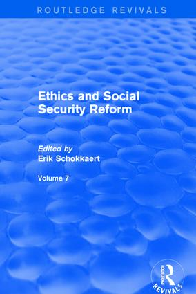 Revival: Ethics and Social Security Reform (2001) book cover