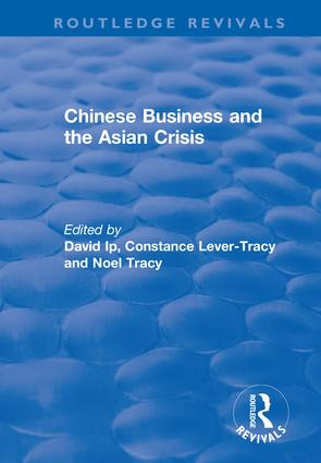 Chinese Business and the Asian Crisis: 1st Edition (Paperback) book cover