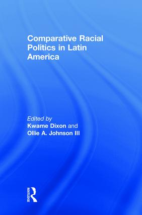 Comparative Racial Politics in Latin America book cover