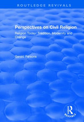 Perspectives on Civil Religion: Volume 3 book cover
