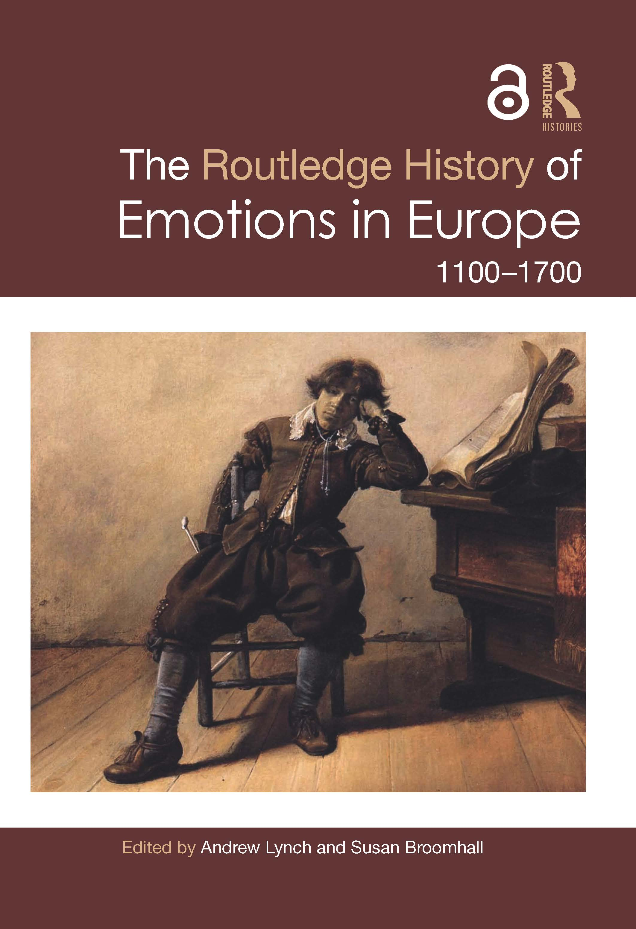 The Routledge History of Emotions in Europe: 1100-1700 book cover