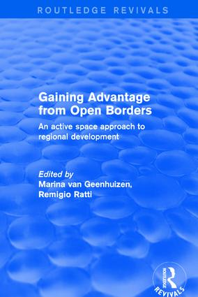 Revival: Gaining Advantage from Open Borders (2001): An Active Space Approach to Regional Development book cover
