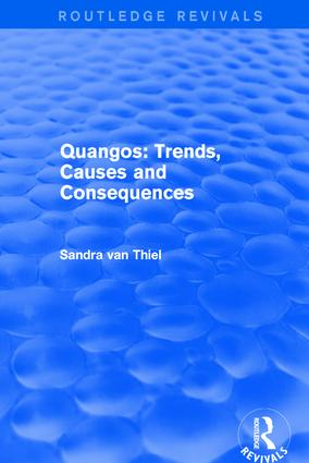 Quangos: Trends, Causes and Consequences: 1st Edition (Hardback) book cover